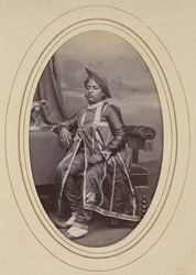 KAGAL: Jay Singh Rao, Raja of Kagal (1857-1886).
